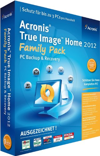 True Image Home 2012 Family Pack 3PC