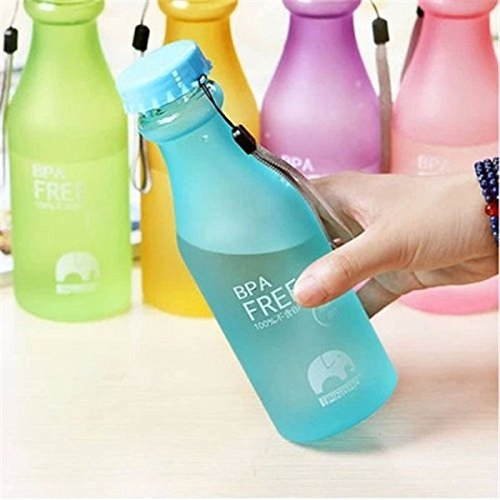 Portable Leak-proof Unbreakable Travel Water Bottle Cycling Camping Sports Cup-random Color