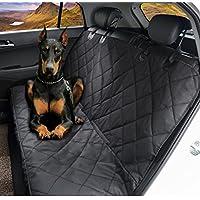 "Dog Seat Cover,EVELTEK Luxury Universal Pet Hammock Barriers X-Large 152x147cm /60""x58"" Nonslip & Waterproof Car..."