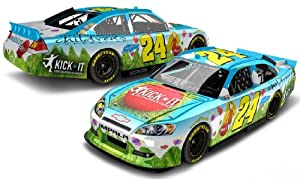 Buy Actionj Racing Collectibles 2012 Jeff Gordon #24 Kick It Foundation 1 64 Diecast Kids Hardtop by Action