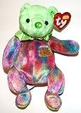 Ty Original Beanie Baby Happy Birthday (August) no Hat 1st Version