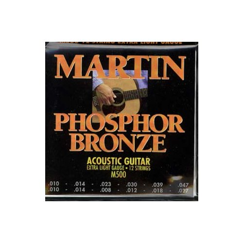 Martin M500 Phosphor Bronze 12-String Acoustic