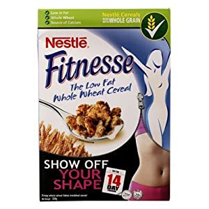 Amazon com nestle fitnesse low fat whole wheat cereals box 330 gm