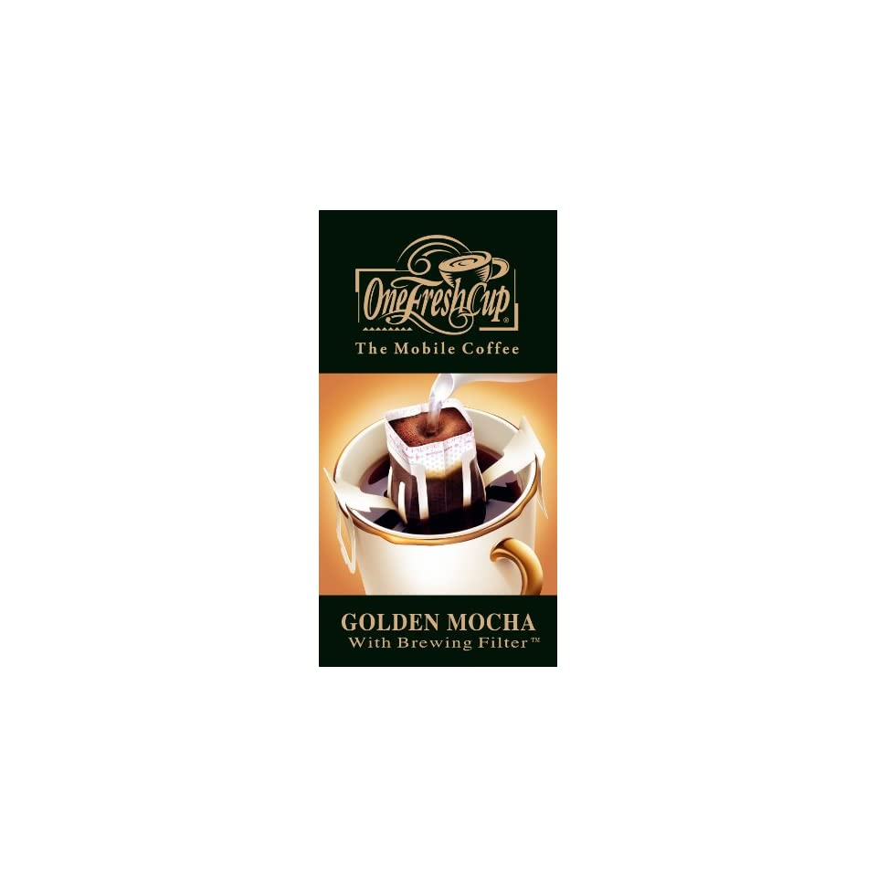 One Fresh Cup Golden Mocha 12 Count Single Serve On Popscreen
