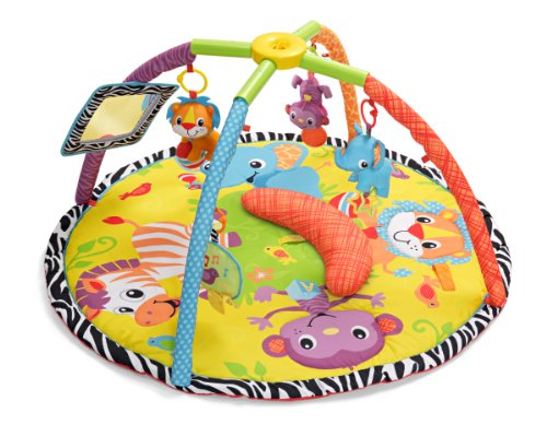 Read About Infantino Twist and Fold Gym, Baby Animals