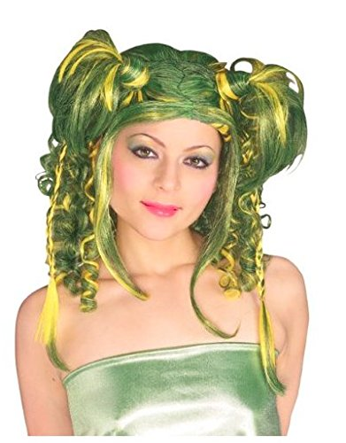Rubie's Costume Camo Diva Wig, Green, One Size