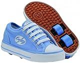 Heelys Jazzy childrens wheel skating shoes blue size 11 child UK
