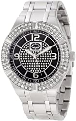 Rhino by Marc Ecko Men's E8M089MV Rock Steady Round Solid Stone Dress Bracelet Watch