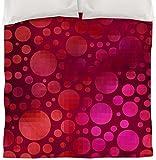Thumbprintz Duvet Cover, Twin, Circles 1 Pink