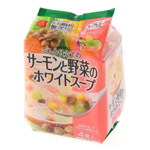 サーモンと野菜のホワイトスープ 6.6g×4食入り