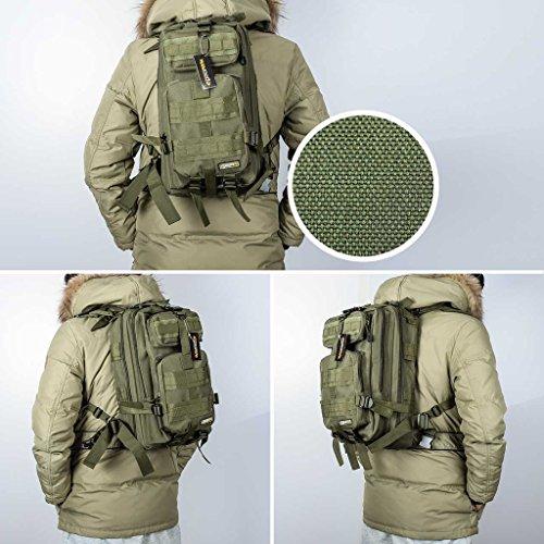 Eyourlife Military Tactical Backpack Small Rucksacks