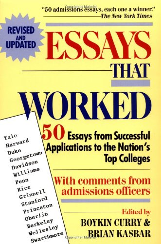 Essays That Worked (cover)