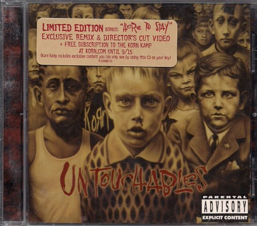 Korn Album: «Untouchables By KORN [limited edition]»Korn Remember Who You Are Special Edition