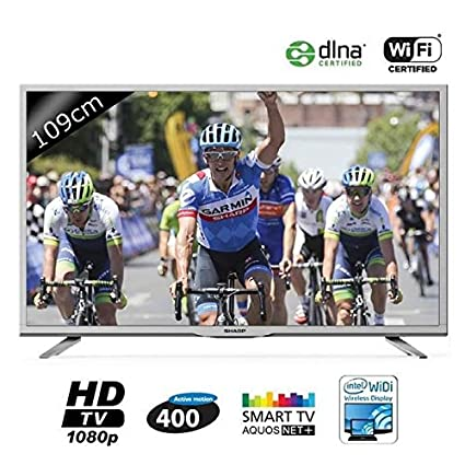 "Sharp LC-43CFE6141E TV Ecran LCD 43 "" (109 cm) 1080 pixels Tuner TNT 400 Hz"