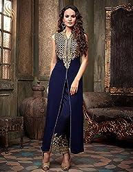 Unique Collection Latest Women's Faux Georgette Salwar Suit Dupatta Dress Material