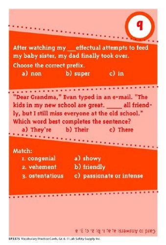 Brain Blasters Vocabulary Practice (Set of 40) - 1