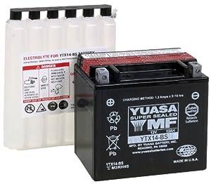 YUASA YTX14-BS Maintenance Free Battery by Yuasa