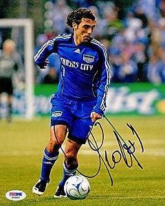 Claudio Lopez SIGNED 8x10 Photo Argentina Kansas City Wizards AUTOGRAPH - PSA DNA...