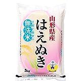 【無洗米】 山形県産 はえぬき 無洗米 10kg(5kg×2袋) 平成28年産