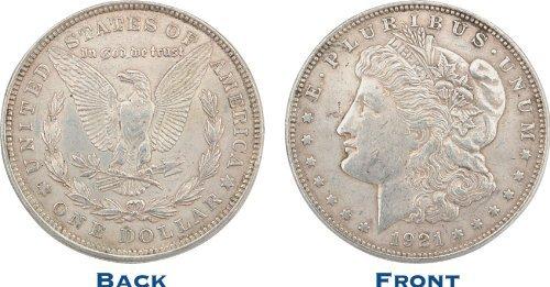 Silver Dollar 1921 Morgan.