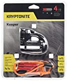 Kryptonite 000877 Keeper 5s Black Chrome Disc Lock
