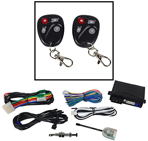 Ultrastart U1272-DP 2,800 Foot Range Remote Car Starter and Keyless Entry Combo System With All New Carbon Fiber Sleak Remotes