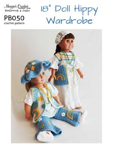 Crochet Pattern Hippy Doll Set PB050-R