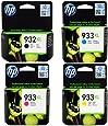 HP 932XL Black & 933XL Cyan, Magenta & Yellow. HP OfficeJet 6100, 6600, 6700. CN053AE, CN054AE, CN055AE, CN056AE.