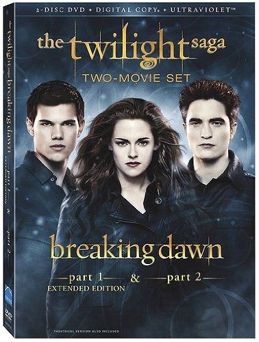 The Twilight Saga: Breaking Dawn, Parts 1 & 2 (2-Disc DVD + Digital Copy + UltraViolet) (Breaking Dawn Part 2 compare prices)