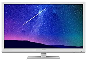 Sharp LC-22DFE4011KW 22-Inch Full HD TV/DVD with Freeview - white