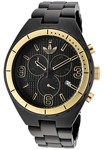 Adidas Aluminum Cambridge Chronograph Black Dial Unisex watch #ADH2577