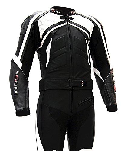 Tschul-Combinazione-moto-di-pelle-750-BLACKWHITE