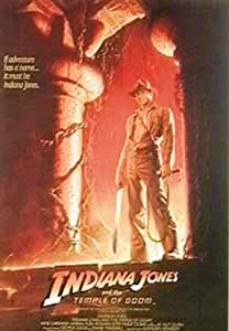 Empire 206336 Indiana Jones Der Tempel Des Todes Film Poster Druck - 70 x 100 cm