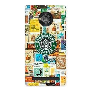 Ajay Enterprise Rel Coffee SB Multicolor Back Case Cover for Yu Yunique