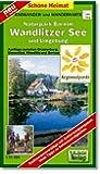 Radwander- und Wanderkarte Naturpark Barnim, Wandlitzer See und Umgebung: Ausflüge zwischen Oranienburg, Biesenthal, Wandlitz und Bernau. 1:35000 (Schöne Heimat)