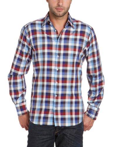 Otto Kern Men's 50004 / 13008 Casual Shirt Blue (300Navy) 41/42