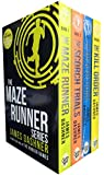 Maze Runner Trilogy Collection James Dashner 4 Books Set (The Scorch Trials, ...