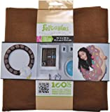 New Image Group Feltables Craft Pack Felt, 36 x 36-Inch, Cocoa