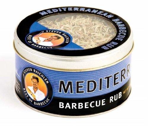 Steven Raichlen SR8085 4-Ounces Barbecue Rub, Mediterranean