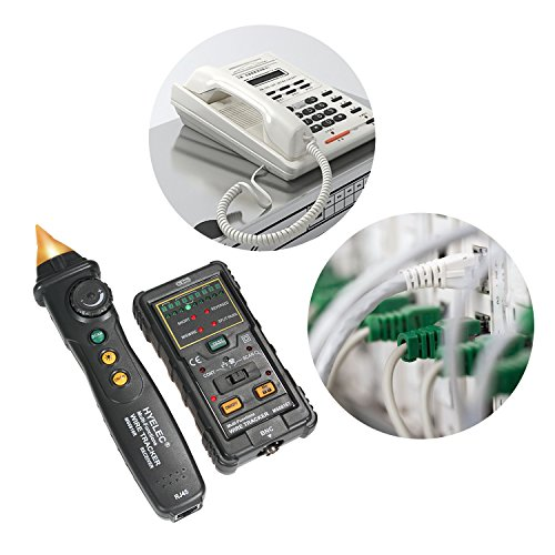 Coaxial Cable Signal Strength Tester : Drmeter ms hand held network line tracker for