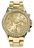 (デイシーブイズ)DAISY VZU ジュネーブ 高級合金ダイヤモンドの腕時計 カレンダー付 XRDT06