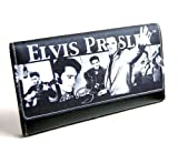 Elvis Presley Black and White Wallet Amazon.com