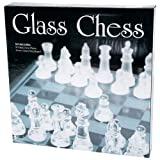 Maxam 32 Piece Glass Chess Set