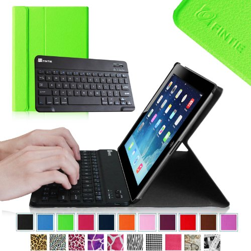 Fintie Blade X1 Keyboard Case For Apple Ipad 4Th Generation With Retina Display, Ipad 3 & Ipad 2 Ultra Slim Smartshell Stand Cover With Magnetically Detachable Wireless Bluetooth Keyboard - Green