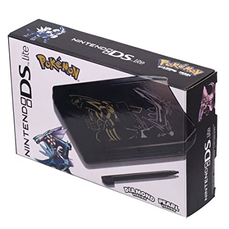 Nintendo Ds Lite - Black Pokeman [Nintendo Ds]