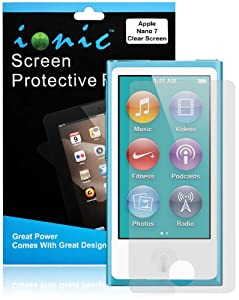 CrazyOnDigital Ionic Invisible Film Screen Protector for iPod nano 7G (Clear)