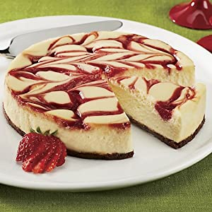 The Swiss Colony Gluten Free Strawberry Cheesecake