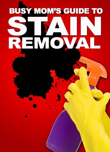 The Busy Mom's Guide To Stain Removal: How To Fight And Remove Stubborn Household Stains