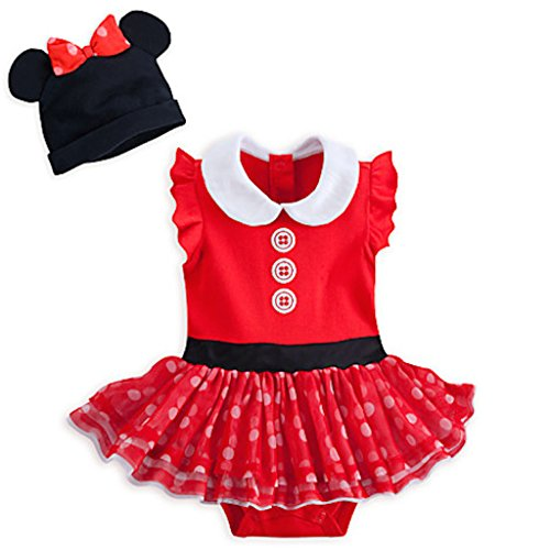 Minnie Mouse Red Bodysuit Costume Set for Baby (18-24M)