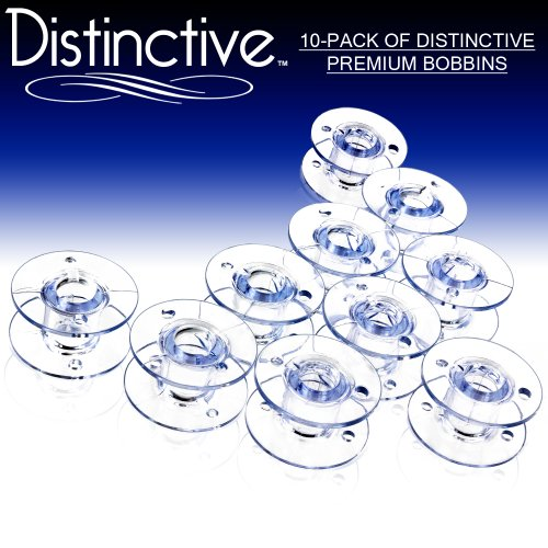 Best Prices! Distinctive 10-Pack of Style SA-156 Premium Sewing Machine Bobbins Made to Fit Brother ...